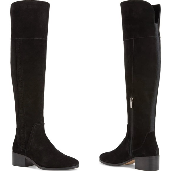 1f59753384dd Vince Camuto Kochelda Over the Knee Boots Suede. M 5bac3e6634e48a219943feb0